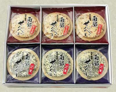 南部せんべい詰合せ 【26枚箱入】佐々木製菓