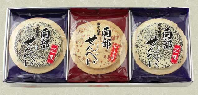 南部せんべい詰合せ 【13枚箱入】佐々木製菓