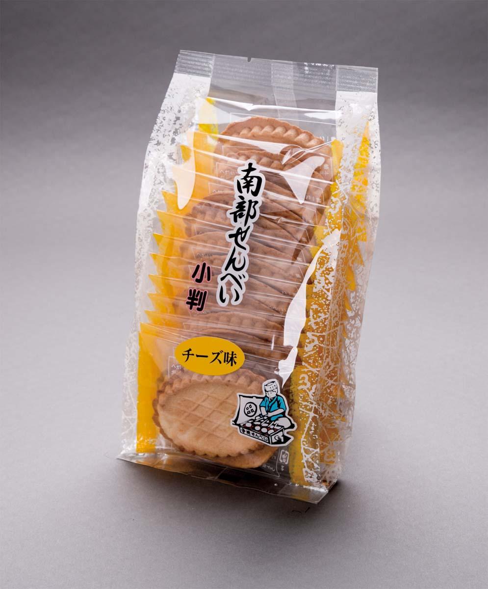南部せんべい小判 (チーズ味)佐々木製菓