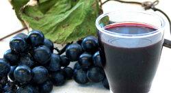 1年熟成の飲みやすい山ぶどうストレート果汁