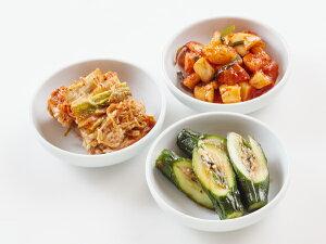 【焼肉・冷麺ひげ】 髭(ひげ)特製 キムチ3種セット(白菜キムチ・カクテキ・オイキムチ) 冷蔵便