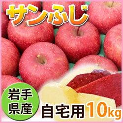 訳ありリンゴサンふじ10kg(自宅用)岩手県産