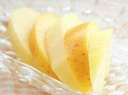 パリパリ食感が人気のシナノゴールド(黄色りんご)