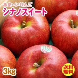 【大柳果樹園】訳あり・送料無料シナノスイート3kg(8〜11玉入り/自宅用)岩手県産りんご