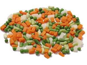 冷凍 野菜ミックス マセドワンヌ 2.5kg 《ボンデュエル》 フランス産 ニンジン グリーンピース サヤインゲン インゲン豆 冷凍野菜 ベジタブルミックス 備蓄 自炊 常備 食材 野菜