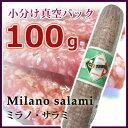 サラミ ミラノ CITTERIO カステッロ【小分け スライス 100g真空パック】 チッテリオ イタリアギフト