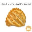 焼くだけ冷凍パン 【ル・フルニル・ドゥ・ピエールシリーズ】 ミニ・ショッソン・ポム(アップルパイ) 40g 3個セッ…