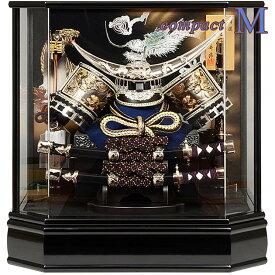 五月人形 ケース飾り コンパクト 【M】 伊達 端午 初節句 兜飾り 面取り加工 前面 アクリル ケース