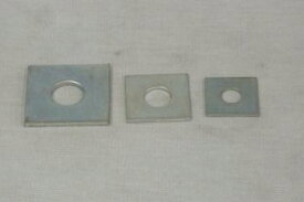 【 メール便 可 】 ユニクロ 角座金 M10 (W3/8)