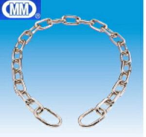 【 メール便 可 】 MM 水本機械 ステンレス セーフティーミニチェーン 2mm×600mm D-001