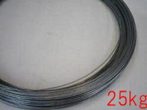 【 送料無料 】  亜鉛メッキ針金 #10×25kg (3.2mm)( 同梱不可 )