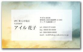 デザイン名刺 d049【片面/100枚】名刺印刷 名刺作成 名刺 作成 印刷 メール便 送料無料