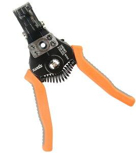 アイウィス(IWISS) マルチ電線ストリッパー ケーブルカッター機能付き0.3sq-8.0sq対応 2WayStrip IWS-0822