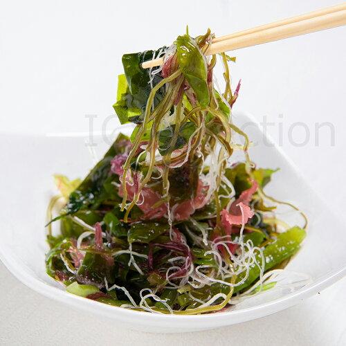国産乾燥海藻サラダ100gわかめ/茎わかめ/昆布/ふのり/赤とさか/白おご[送料無料MSM]