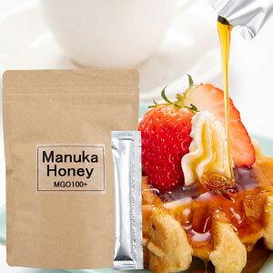 マヌカハニー ニュージーランド産 MGO100+ ステックタイプ10g×30本 蜂蜜 はちみつ 送料無料 グルメ