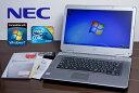 中古ノートパソコン 極上 NEC Office付 Windows7 【送料無料 】 VY25AA-7 中古パソコン Windows7 Home Premium/Core2D…