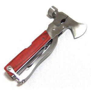 MAGNA(マグナ) マルチツール ハンマータイプ 多目的 プライヤー フィッシング 十徳ナイフ 万能ナイフ 車載用 工具 多機能 ハンマータイプ ナイフ アウトドア