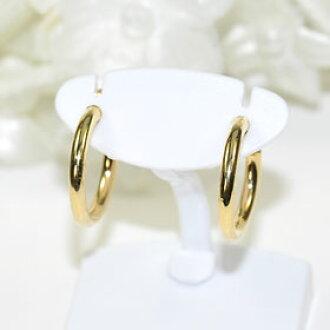 它看起來像耳環 ! 迷你玻璃鋼耳環 (黃金)