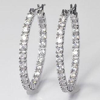 Furue Tani Tea Hoop Pierced Earrings That All High Quality Cz Looks Ahead