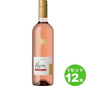 アサヒ サンタ・ヘレナ・アルパカ ロゼワイン チリ750ml×12本 ワイン【送料無料※一部地域は除く】