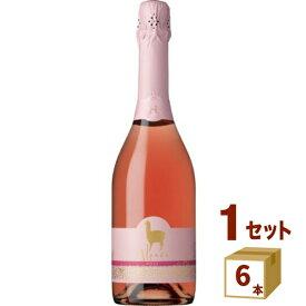 アサヒ サンタ・ヘレナアルパカスパークリングロゼ スパークリングワイン チリ750 ml×6本 ワイン【送料無料※一部地域は除く】