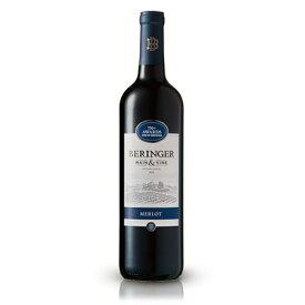 ベリンジャー・ヴィンヤーズカリフォルニア・メルローCaliforniaMelrot定番 750 ml ×1本 アメリカ  サッポロビール ワイン