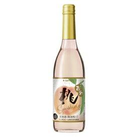 サッポロ 桃のワイン スパークリング 600ml×1本 ワイン【取り寄せ品 メーカー在庫次第となります】