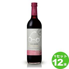 ビオマニアビオマニア<オーガニック>チリカベルネ・ソーヴィニヨンBIOMANIAOrganicChileCabernetSauvignon定番 750 ml ×12本 チリ  サッポロビール ワイン