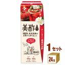 CJフーズジャパン 美酢 ミチョ いちご&ジャスミン パック 200ml×24本×1ケース (24本) 飲料【送料無料※一部地域は…