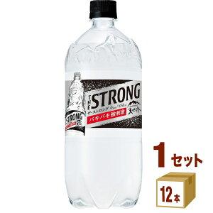 サントリー THE STRONG 天然水スパークリング 1050ml×12本×1ケース (12本) 飲料【送料無料※一部地域は除く】