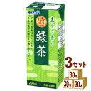 エルビー エルビー 緑茶パック 200ml×30本×3ケース (90本) 飲料【送料無料※一部地域は除く】