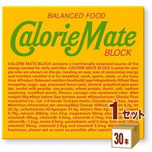大塚製薬 カロリーメイト ブロック フルーツ味(4本入り) ×30本×1ケース (30本) 食品【送料無料※一部地域は除く】