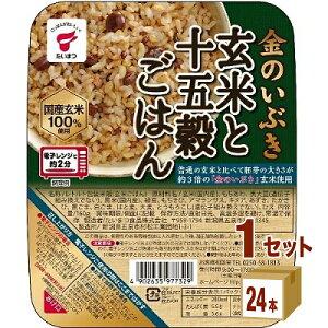 たいまつ食品 金のいぶき玄米と十五穀 160g×24パック×1ケース (24パック) 食品【送料無料※一部地域は除く】