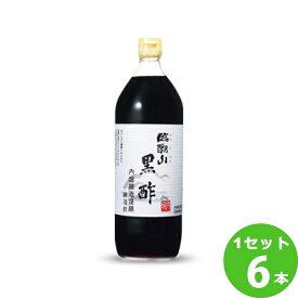 内堀醸造 内堀 臨醐山黒酢 900ml×6本(個) 調味料