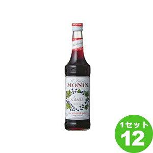 日仏貿易 モナン シロップ カシス 700 ml×12本 調味料