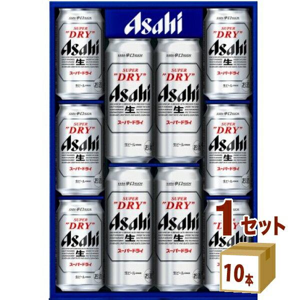[最大500円クーポン配布] アサヒ スーパードライ セットAS-DN (350ml6本 500ml4本)1箱(セット)