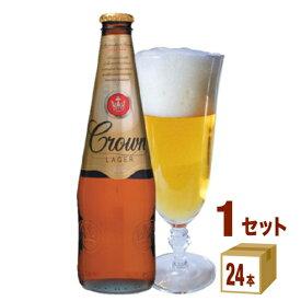 カールトンクラウンラガー瓶(Carlton Crown Lager)375ml×24 オーストラリア 日本ビール 輸入ビール 輸入ビール【送料無料※一部地域は除く】