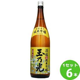 玉乃光酒魂純米吟醸 1800 ml×6本 日本酒【送料無料※一部地域は除く】