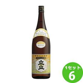 立山酒造(富山) 銀嶺立山純米酒 1800ml×6本 日本酒【送料無料※一部地域は除く】