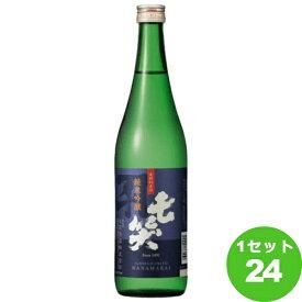 七笑酒造(長野) 七笑純米吟醸 720 ml×24本 日本酒【送料無料※一部地域は除く】
