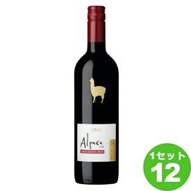 サンタ・ヘレナ・アルパカ・カベルネ・メルローSANTA HELENA ALPACA CABERNET MERLOT定番750 ml×12本 ワイン【送料無料※一部地域は除く】