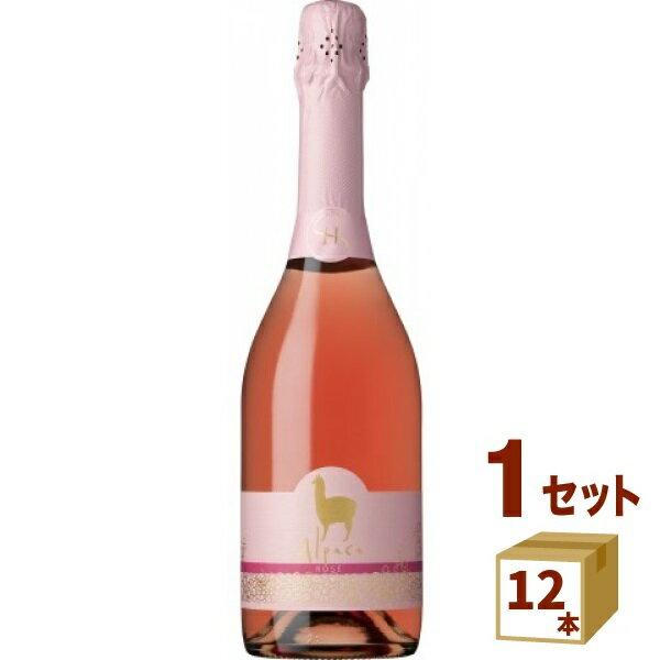 【ママ割3倍】アサヒ サンタ・ヘレナアルパカスパークリングロゼ スパークリングワイン チリ750ml×12本(個) ワイン送料無料(北海道・沖縄・一部地域は別途)