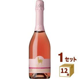 アサヒ サンタ・ヘレナアルパカスパークリングロゼ スパークリングワイン チリ750 ml×12本 ワイン