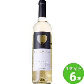 日本リカー ボデガ イニエスタ ワイン イニエスタ コラソン・ロコ ブランコ 白ワイン スペイン750 ml×6本(個) ワイン