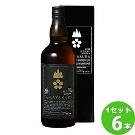 笹の川酒造(福島) 笹の川山桜黒ラベル箱入 山形県700 ×6本(個) ウイスキー