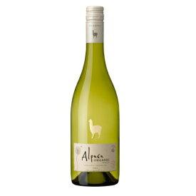 【6本まで同一送料】ビ−ル サンタ ヘレナ アルパカ オーガニック ホワイト18 白ワイン チリ 750ml ×1本 ワイン