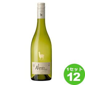 ビ−ル サンタ ヘレナ アルパカ オーガニック ホワイト18 白ワイン チリ 750ml ×12本 ワイン【送料無料※一部地域は除く】