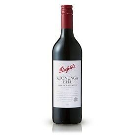 ペンフォールズクヌンガ ヒル シラーズ カベルネKoonungaHillShirazCabernet 750ml ×1本 オーストラリア ビール ワイン
