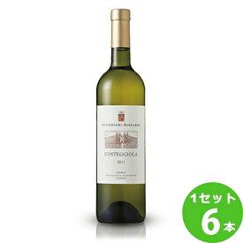 サッポロ グエリエリ・リッツァルディコステジオーラ・ソアーヴェ・クラッシコCosteggiolaSoaveClassico定番 白ワイン イタリア 750 ml×6本(個) ワイン【送料無料※一部地域は除く】【取り寄せ品 メーカー在庫次第となります】