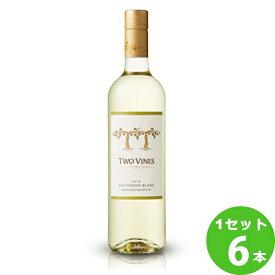 ツーヴァインズ・ワイナリーツーヴァインズ・ソーヴィニヨン・ブランTwo Vines Sauvignon Blanc 750 ml ×6本 アメリカ  サッポロビール ワイン【送料無料※一部地域は除く】【取り寄せ品 メーカー在庫次第となります】